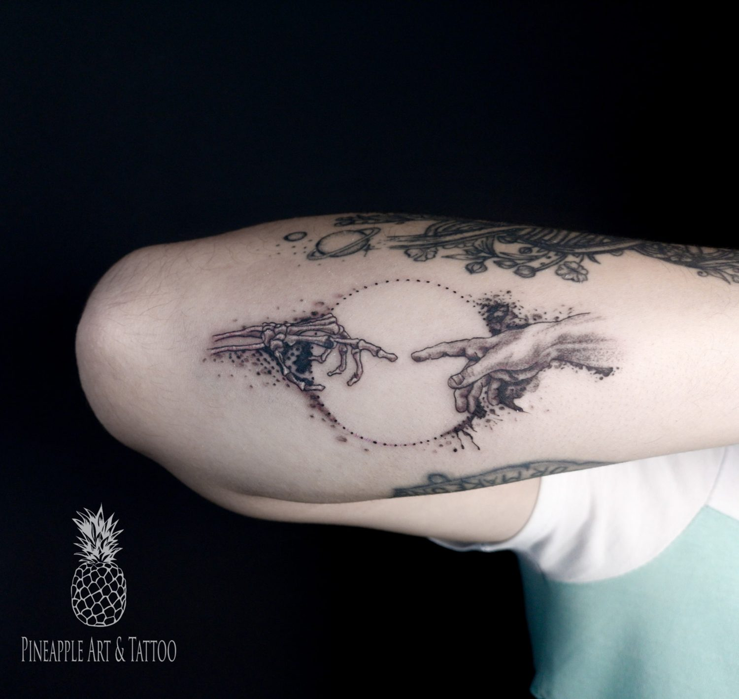 The touch tattoo by Pineapple tattoo Mariobr Slovenia