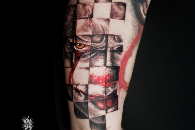 pennywise tattoo by Pineapple tattoo Maribor