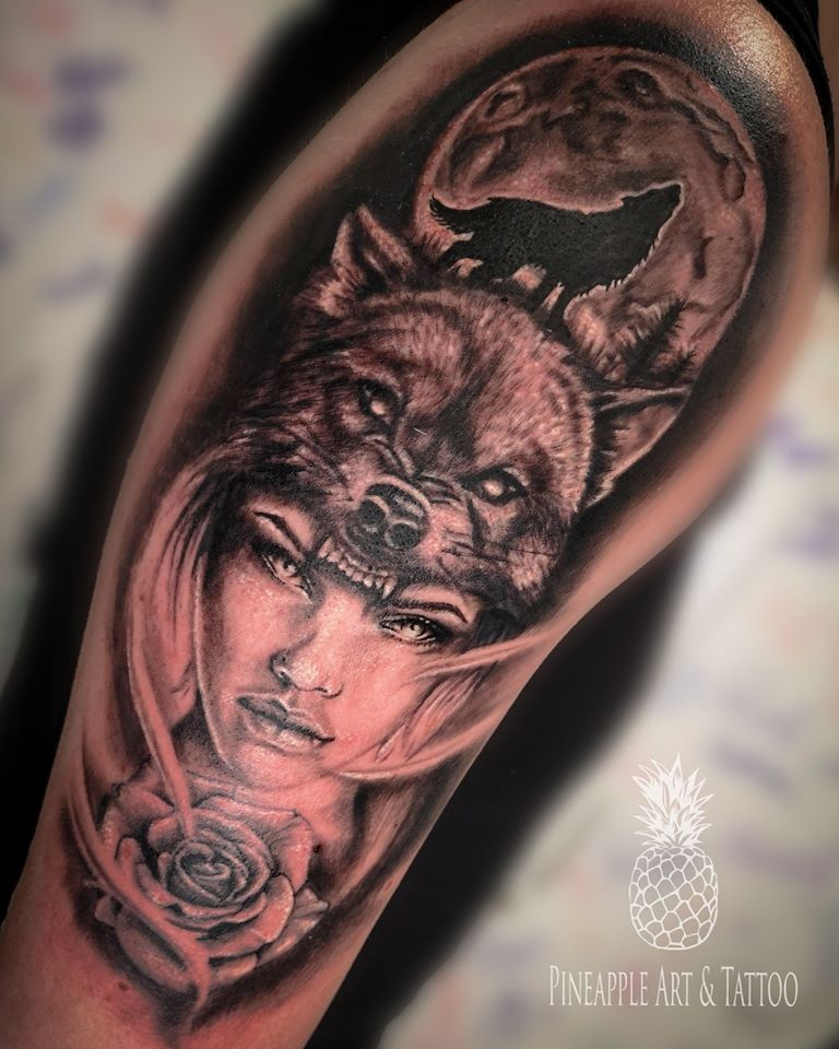 Wolf girl 1