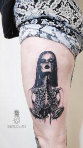 Nega nove tetovaže je izredno pomembna tudi za ohranjanje barvnosti